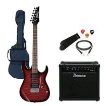 Guitarra Electrica Ibanez Grx 70 + Ampli Ibanez 15w Reverb