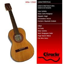 Guitarra Clásica Gracia Modelo Niño