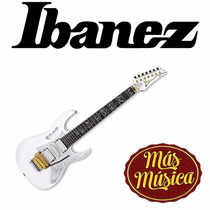 Guitarra Electric Stece Vai Model 7 Cuerdas Ibanez Jem7v7 Wh
