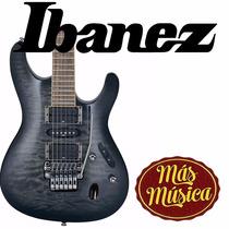Guitarra Electrica S Prestige Transparen Ibanez S570 Dxqm-tg