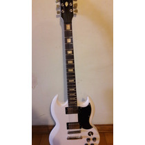 Guitarra Sg Lutheria Ag - Decal Gibson Permuto