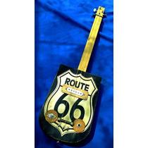 Cigar Box Guitar Vintage Mod. Ruta 66