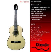 Guitarra Clasica Criolla Gracia Modelo M9 Estudio Nueva!