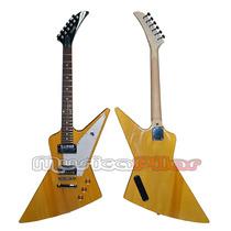 Guitarra Electrica Explorer Korina Parquer Musica Pilar