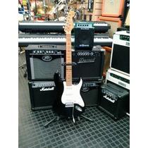 Guitarra Eléctrica Sx Stratocaster 57 Black Vintage Series