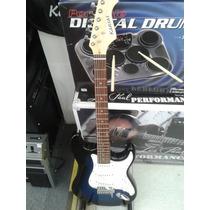 Kansas Guitarra Electrica + Amplificador + Accesorios