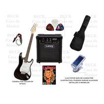 Combo Completo Guitarra + Amplificador + Accesorios Z/oeste