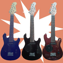 Combo Guitarra Electrica Niños Amplificador Funda Cable Pua