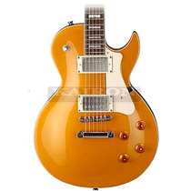Guitarra Cort Cr200 Gt Gold Top Classic Rock Series