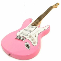 Guitarra Electrica Niño 3 Mics Rosa Garantia / Envios