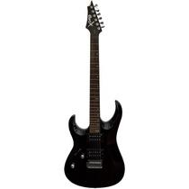 Guitarra Electrica Cort Zurda Negra X2lh