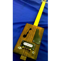 Cigar Box Guitar Es-335