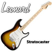 Guitarra Eléctrica Leonard Stratocaster 3 Mics + Palanca