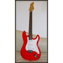 Excelente! Guitarra Electrica Stratocaster Hallen Permuto