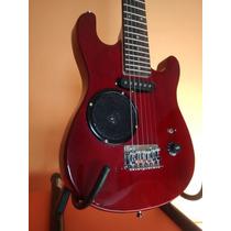 Guitarra Eléctrica Para Niño Con Parlante (no Es Juguete)