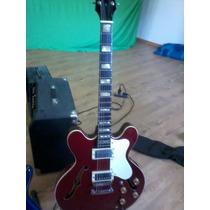 Guitarra Hardmusic 335 Caja Semi Hueca Guitarra Jazz