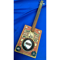 Cigar Box Guitar Modelo Square Piezo
