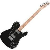 Squier Telecaster Deluxe Vintage Modified Mn Black Guitarra