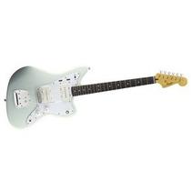Squier Jazzmaster Vintage Modified Rwn Sonic Blue Guitarra