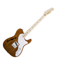 Squier Telecaster Classic Vibe Thinline Mn Natural Guitarra