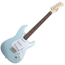 Squier Stratocaster Bullet Rwn Sss C/tremolo Daphne Blue