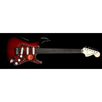 Squier Stratocaster Standard Rwn Antique Burst Guitarra