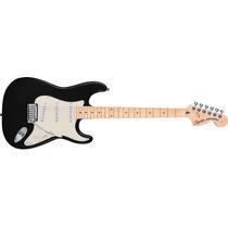 Squier Stratocaster Standard Mn Black Metallic Guitarra