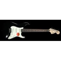 Squier Stratocaster Standard Rwn Black Metallic Guitarra