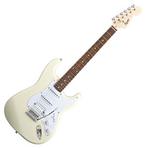 Guitarra Elec. Squier Stratocaster Bullet Hss Artic White