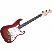 Guit Elec Squier Stratocaster Standard Special Cherry Burst