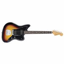 Guitarra Fender Jazzmaster Blacktop Hs Sunburst Rwn Mexico