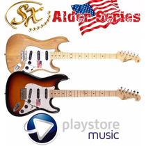 Guitarra Eléctrica Sx Stratocaster Alder Series