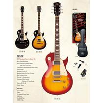 Sx Se3-sk Pack De Guitarra Les Paul + Funda Y Accesorios