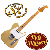 Sx Ftl50 Guitarra Electrica Tipo Telecaster Natural