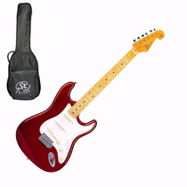 Guitarra Electrica Sx Fst57 Con Funda + Accesorios