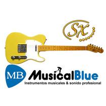 Guitarra Electrica Sx Ftl50 Mango De Maple Clavijas Vintage