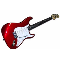 Washburn We10mc Guitarra Electrica Tipo Stratocaster Cherry