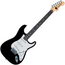 Washburn We10b Guitarra Electrica Negra Tipo Stratocaster