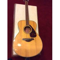 Guitarra Acústica Yamaha Fs 720s Impecable