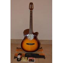 Guitarra Electroacustica Parquer Cuerdas De Nylon