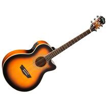 Guitarra Electroacustica Washburn Ea14 Envios Garantia