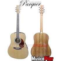 Guitarra Electro Acustica Parquer Ga170lbeq4 Musica Pilar