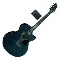 Guitarra Electro Acustica Cort Incluye Funda Evl-a6-bks