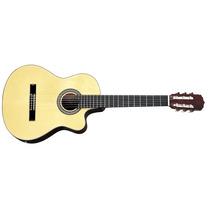 Aria Ak30ce Guitarra Electroacústica Cuerdas De Nylon Y Eq