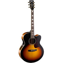 Guitarra Electro Acustica Cort Incluye Funda Cj3v-tab