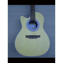 Guitarra Zurda Electroacustica Metal Tipo Ovation H/ Agotar!