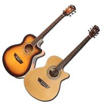Guitarra Washburn Ea15 Atb Electroacustica Funda Acolchada