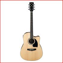 Guitarra Electroacustica Ibanez Pf15ece Eq+afin.- En Palermo