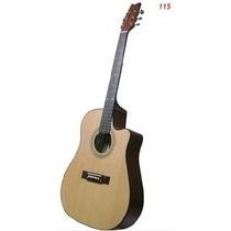 Guitarra Electroacústica Gracia Modelo 115 Con Ecualizador