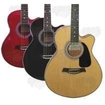 Guitarra Electroacústica Shelter Ecualiz Afinador *yulmar*